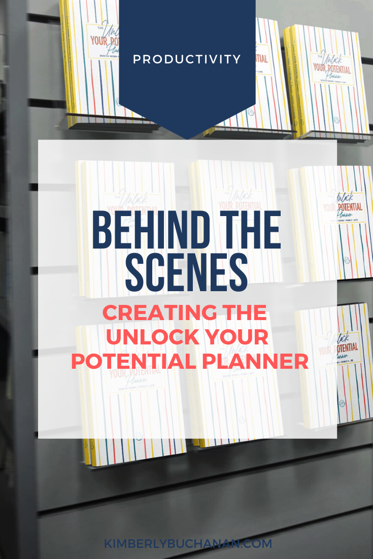 An Inside Look: Creating the 2020 Unlock Your Potential Planner