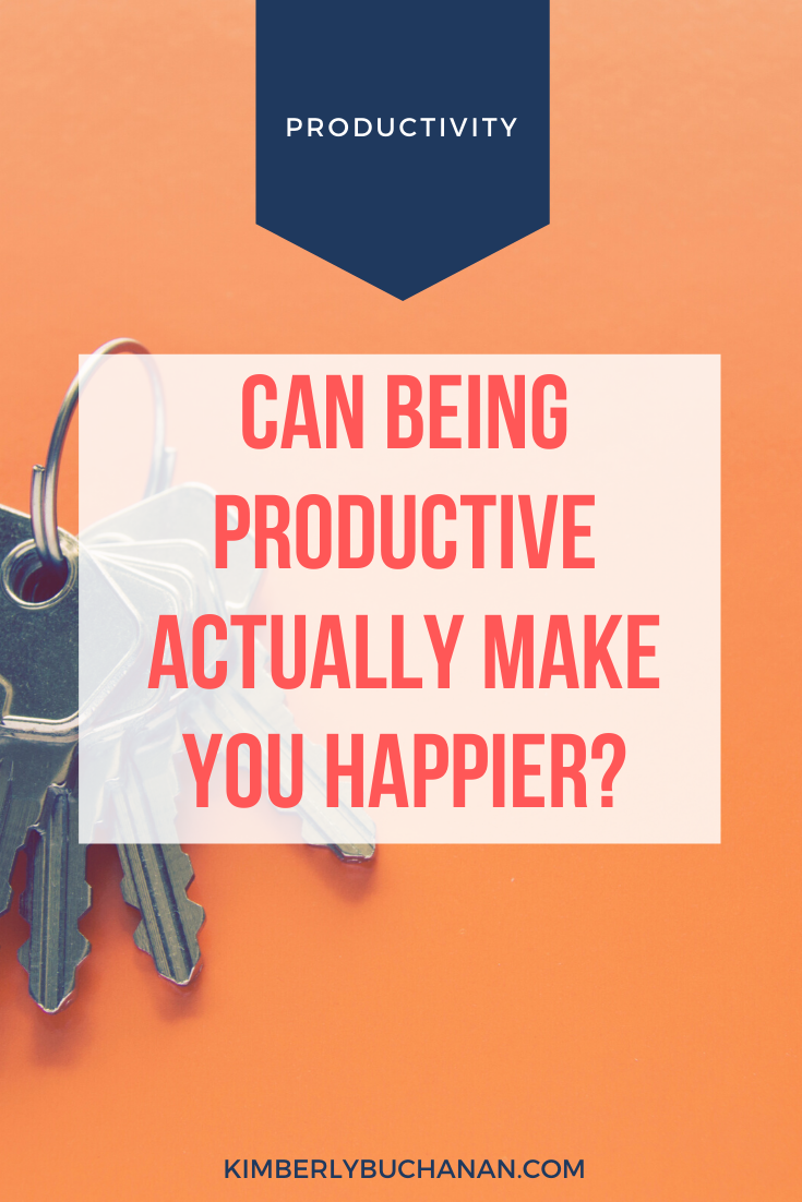 Can Being Productive Actually Make You Happier?