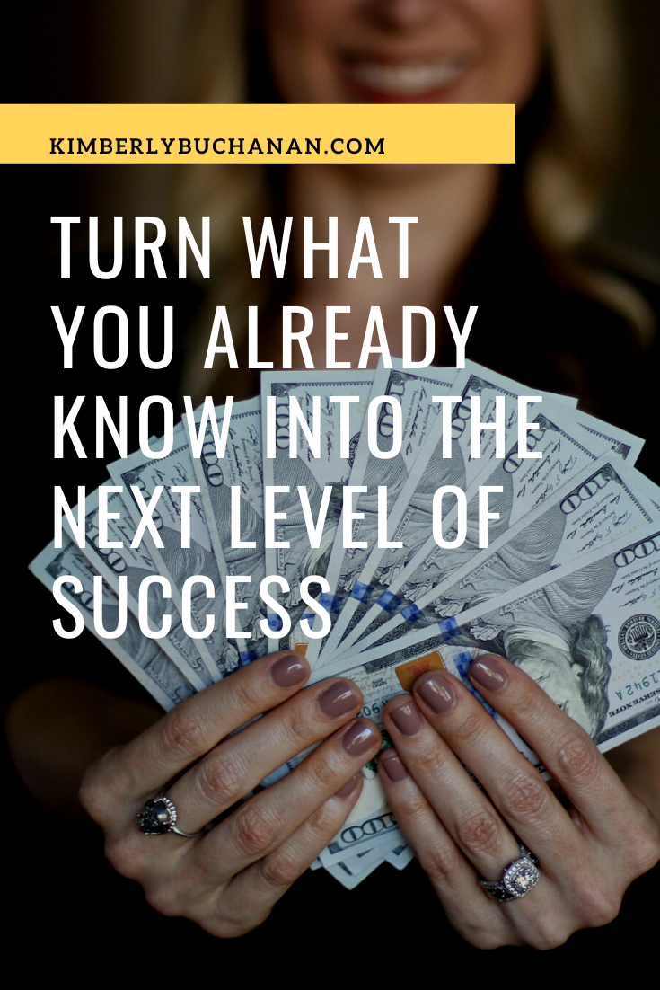 Turn the skills you already have into the next level of success